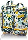 Kipling Pack Things Organizador para Maletas, 1 cm, Liters, Multicolor (Camo Map)