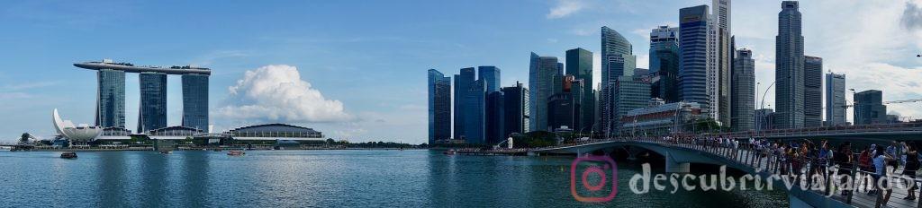 Panorámica de Singapur
