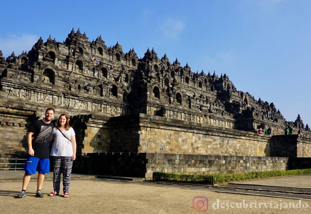 Borobudur desde abajo