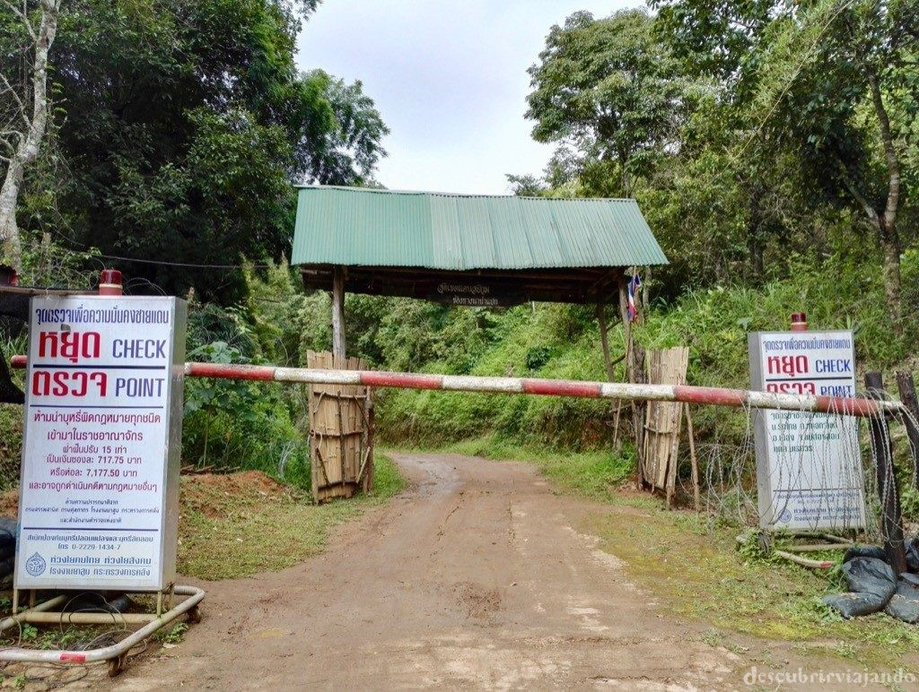 Mae-Hong-Son-Mae-Aw-Moo-Ban-Rak-Thai-frontera-Birmania