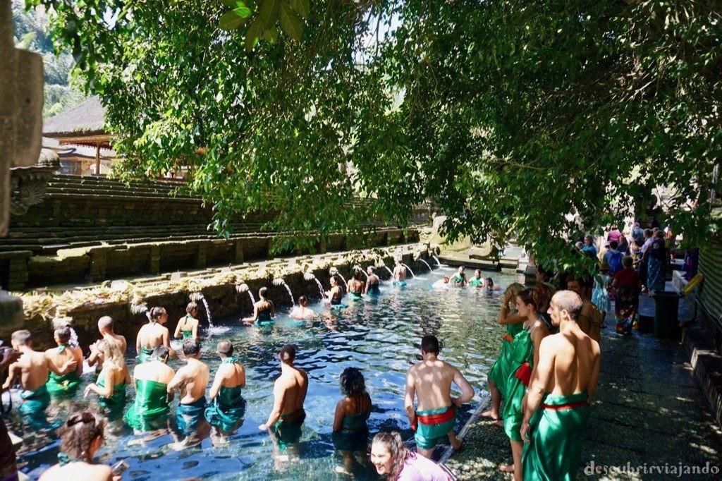 Pura Tirta Empul Ubud piscina principal