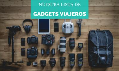 ¡Nuestros gadgets viajeros!