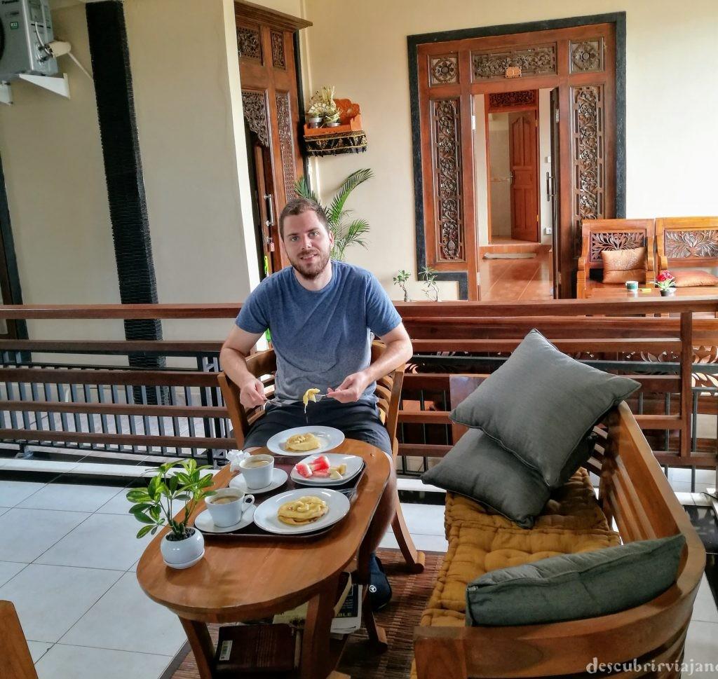 desayuno hotel Ubud