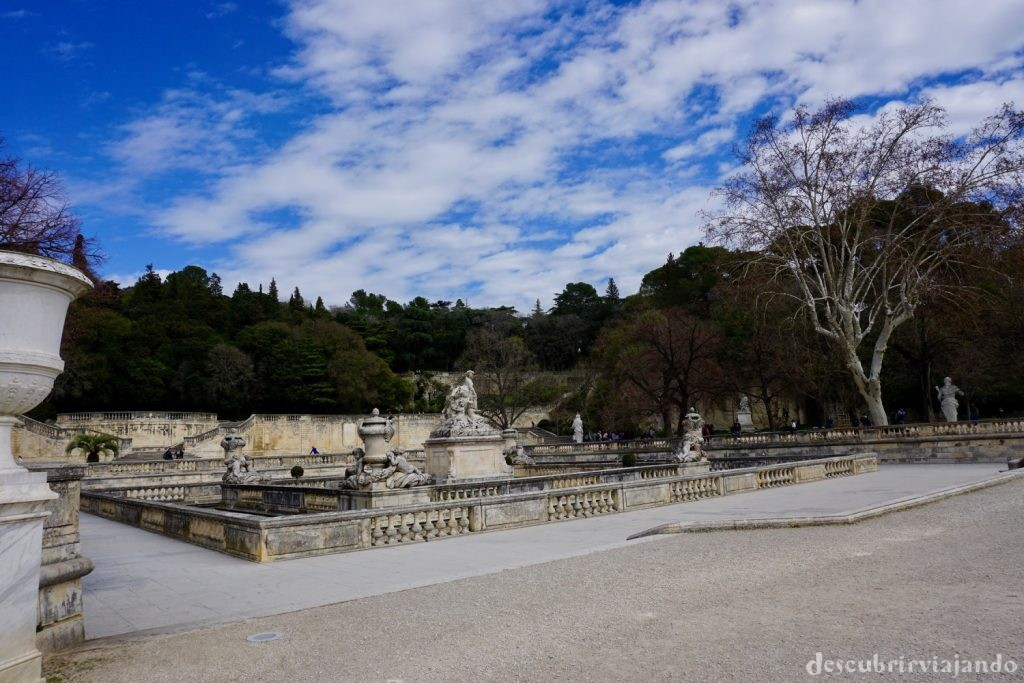 Jardins de la Fontaine Nimes 2