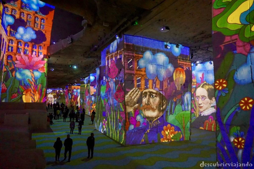 Carriere de Lumieres hippie
