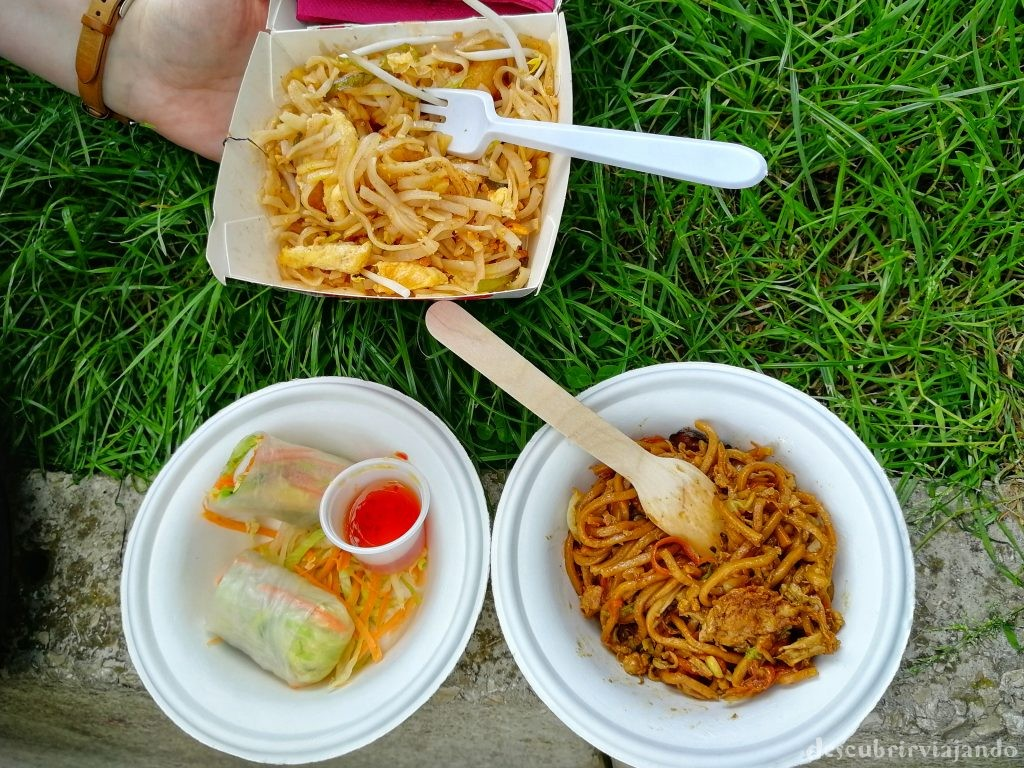 Thai festival barcelona - comida