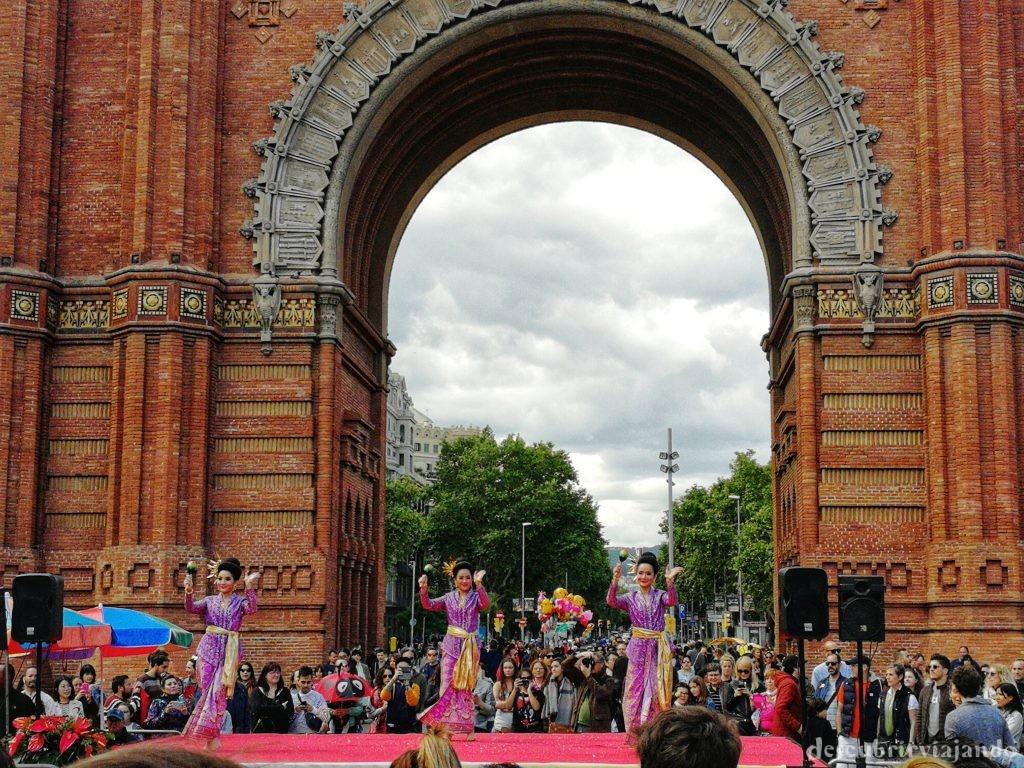 Thai festival barcelona - danza