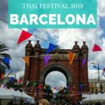 Thai Festival Barcelona 2018