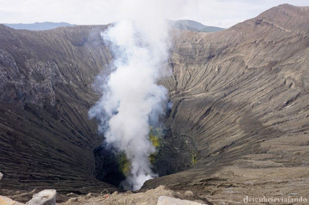 Crater monte Bromo