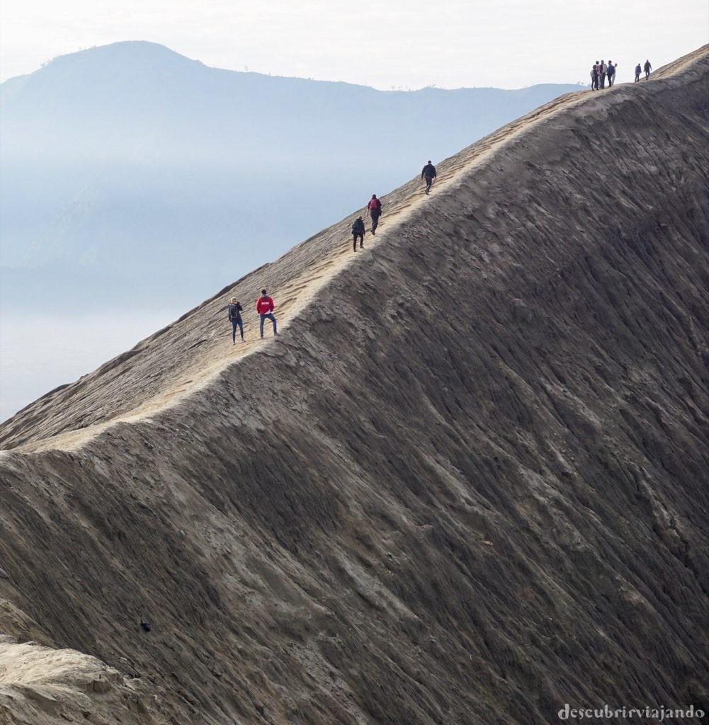 Ladera monte Bromo
