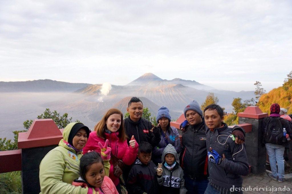 Monte Bromo grupo