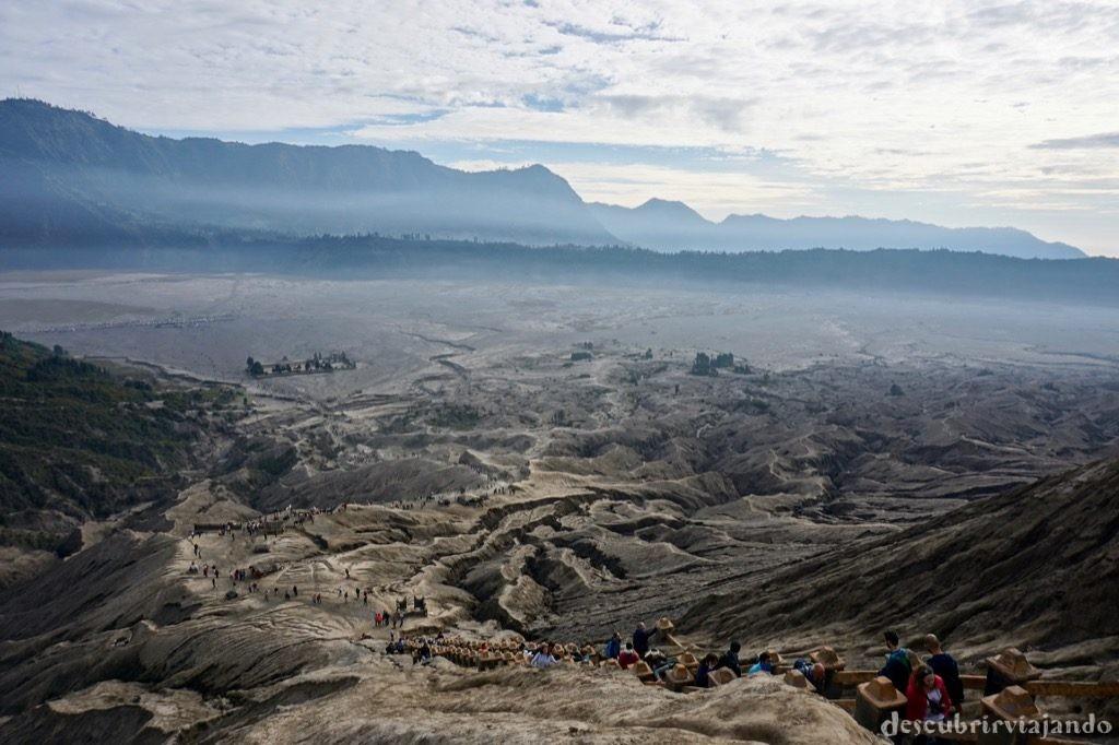 Vistas monte Bromo