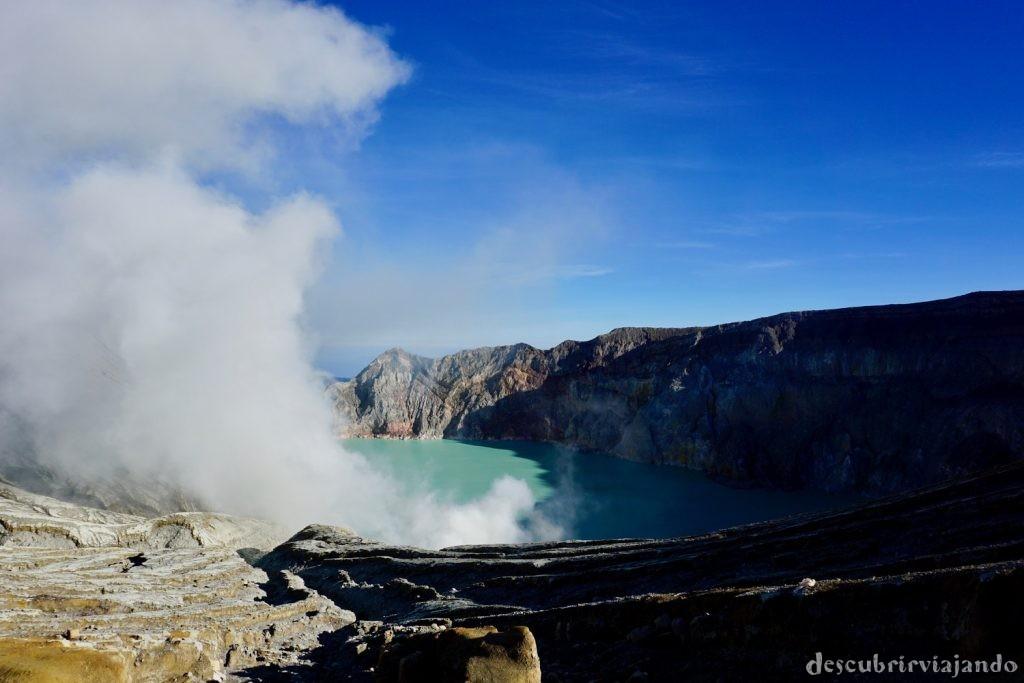 Vistas crater Ijen