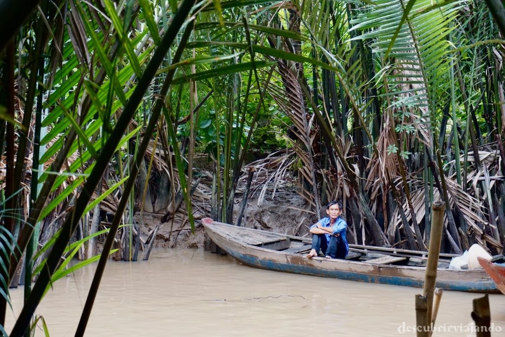 Barca delta Mekong