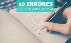 [General] 10 Errores al viajar
