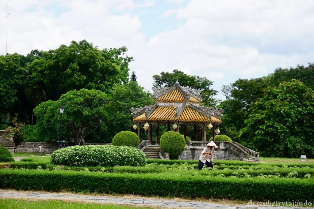 Trabajador ciudadela Hue