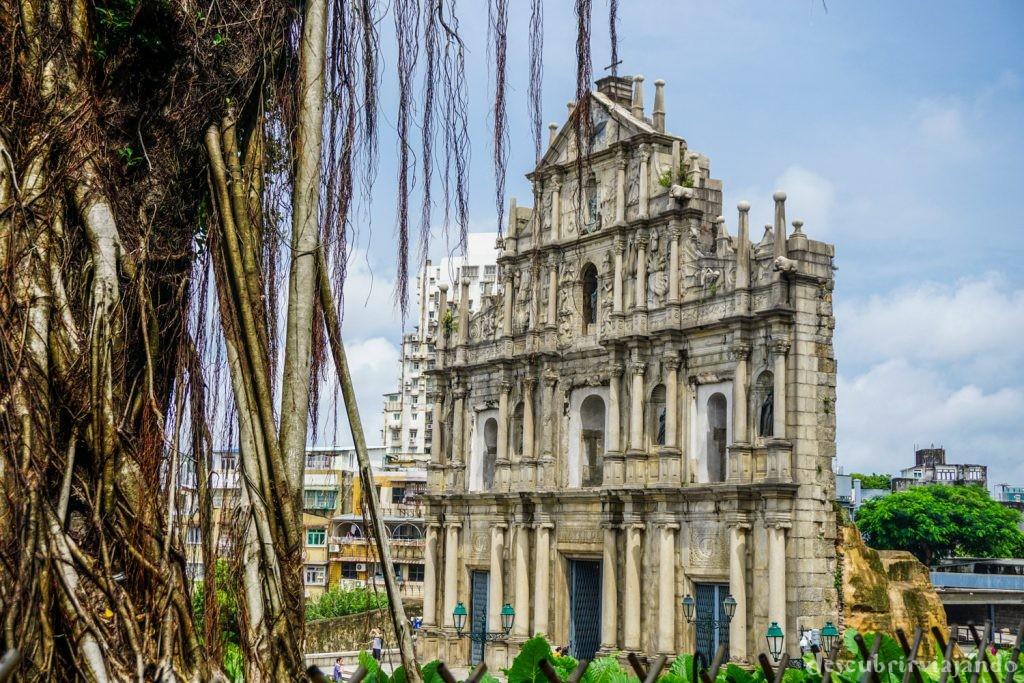 Macao ruinas de San Pablo