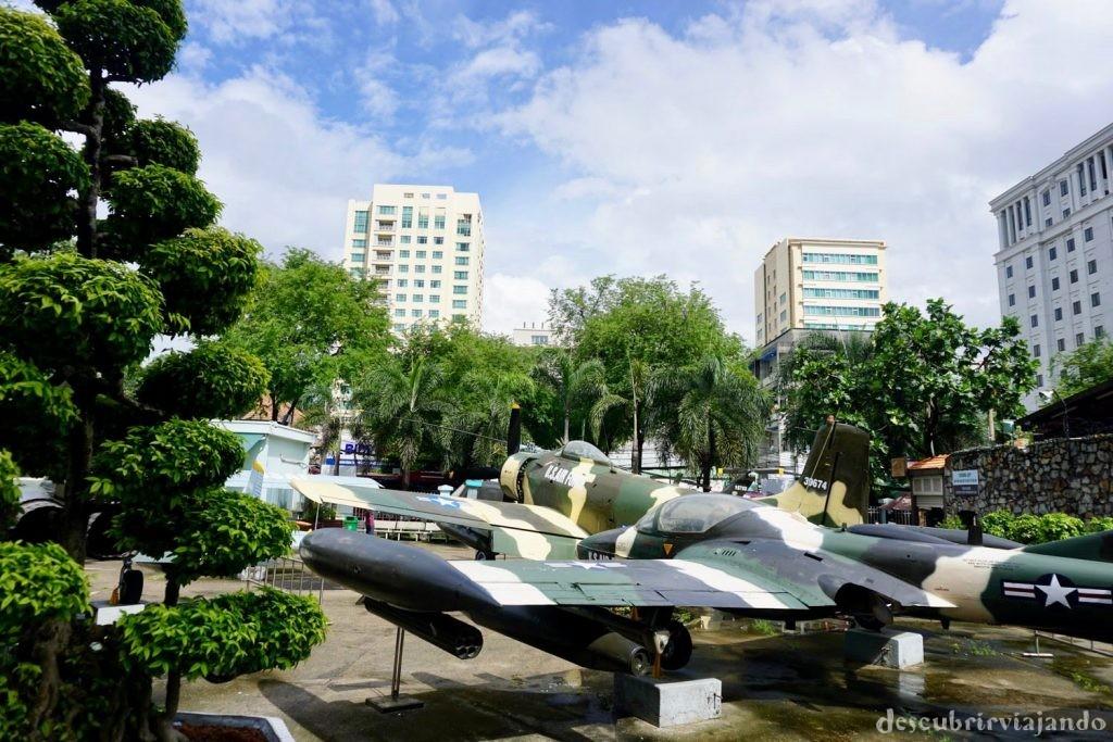 Museo de losVestigios de la Guerra de Vietnam