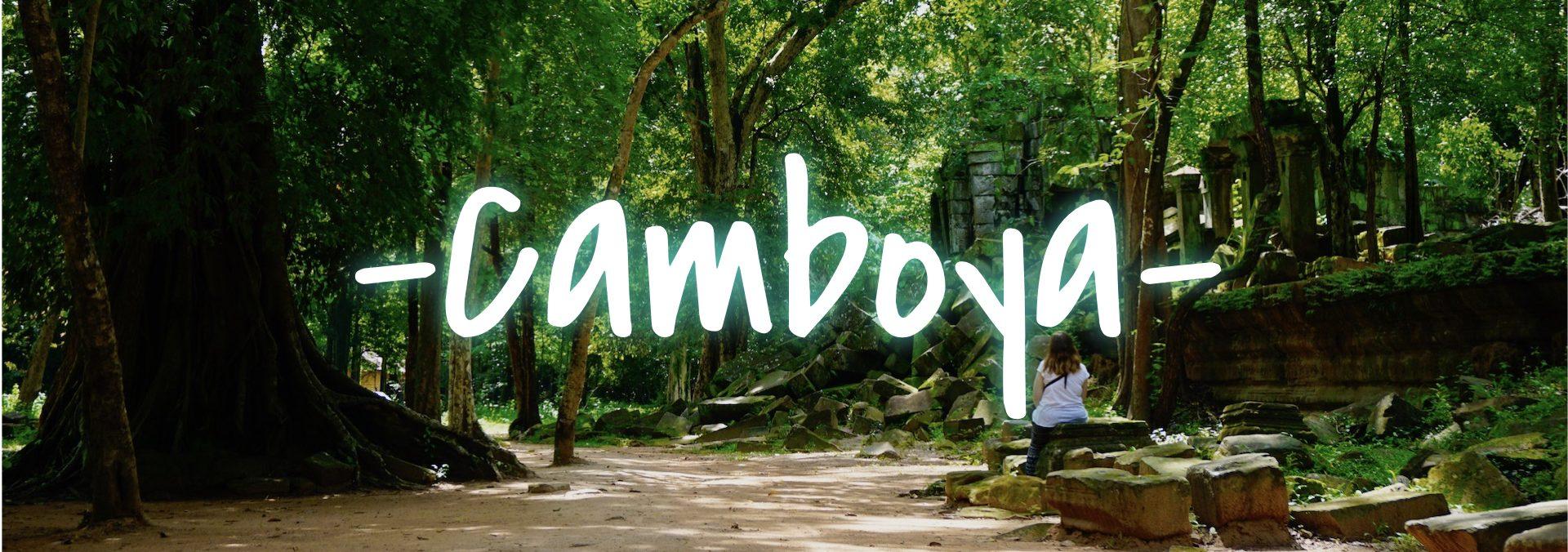 Guía viaje Camboya