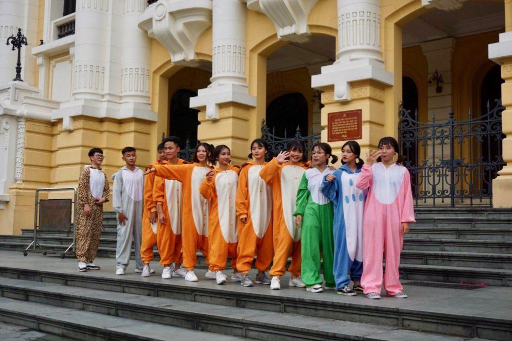 Hanoi baile