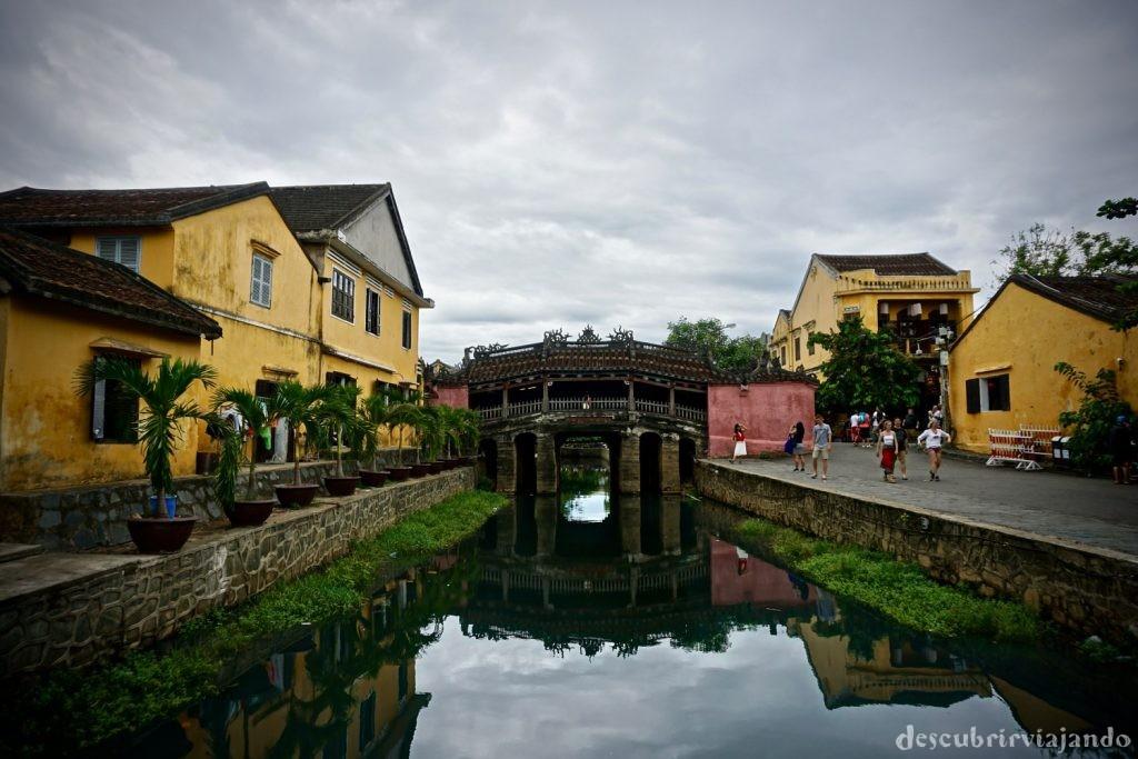 Puente japonés Hoi An
